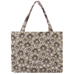 Background Flowers Mini Tote Bag