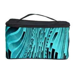 Design Backdrop Abstract Wallpaper Cosmetic Storage Case