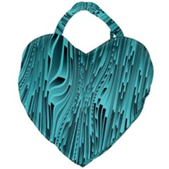 Design Backdrop Abstract Wallpaper Giant Heart Shaped Tote