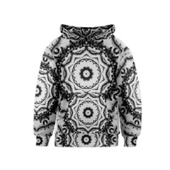 Abstract Pattern Fractal Kids  Pullover Hoodie