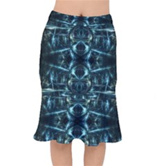 Abstract Fractal Magical Mermaid Skirt by Sapixe
