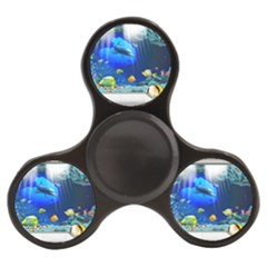 Dolphin Art Creation Natural Water Finger Spinner