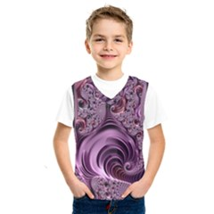 Purple Abstract Art Fractal Kids  Sportswear