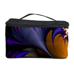 Flora Entwine Fractals Flowers Cosmetic Storage Case by Sapixe