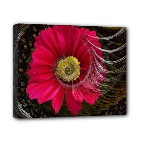 Fantasy Flower Fractal Blossom Canvas 10  X 8  by Sapixe