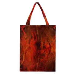 Fractal Abstract Background Physics Classic Tote Bag by Sapixe