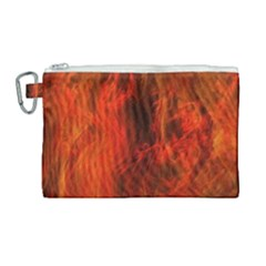 Fractal Abstract Background Physics Canvas Cosmetic Bag (large) by Sapixe