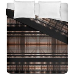 Fractal Art Design Geometry Duvet Cover Double Side (california King Size)