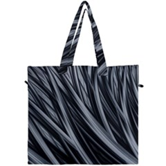Fractal Mathematics Abstract Canvas Travel Bag by Sapixe