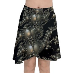Fractal Math Geometry Backdrop Chiffon Wrap