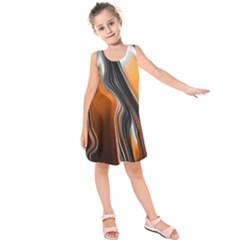 Fractal Structure Mathematics Kids  Sleeveless Dress