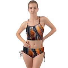 Fractal Structure Mathematics Mini Tank Bikini Set