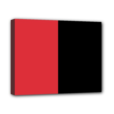 Red And Black Canvas 10  X 8  by jumpercat