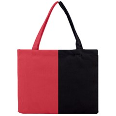 Red And Black Mini Tote Bag