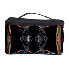 Fractal Math Design Backdrop Cosmetic Storage Case by Sapixe