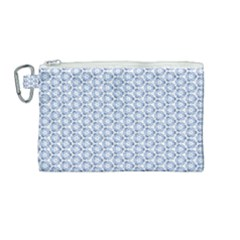 Abstract Ornament Tiles Canvas Cosmetic Bag (medium)