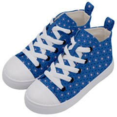 Star Light Kid s Mid Top Canvas Sneakers by jumpercat