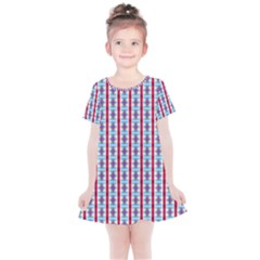 Arabic Ornament Stripes Kids  Simple Cotton Dress by jumpercat
