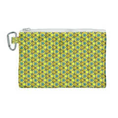 Mechanical Pattern Canvas Cosmetic Bag (large)