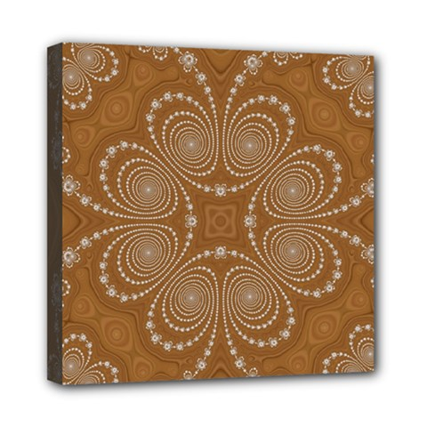 Fractal Pattern Decoration Abstract Mini Canvas 8  X 8