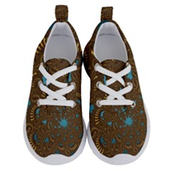 Fractal Abstract Pattern Running Shoes by Sapixe