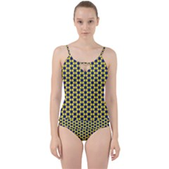Arabesque Stars Cut Out Top Tankini Set by jumpercat