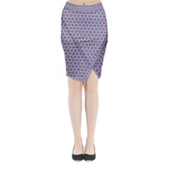 Galactic Trip Midi Wrap Pencil Skirt by jumpercat