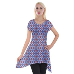 Galactic Trip Short Sleeve Side Drop Tunic by jumpercat
