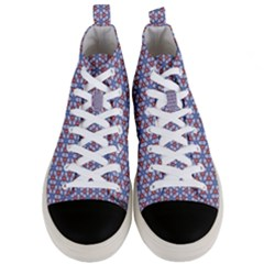Galactic Trip Men s Mid Top Canvas Sneakers