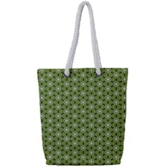 Greenville Pattern Full Print Rope Handle Tote (small)