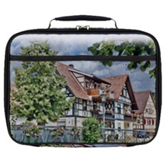 Homes Building Full Print Lunch Bag
