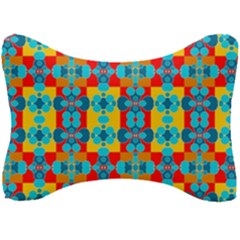 Pop Art Abstract Design Pattern Seat Head Rest Cushion