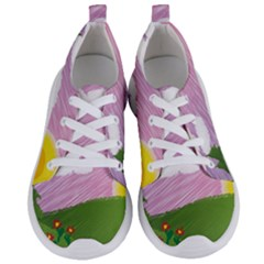 Pine Trees Trees Sunrise Sunset Women s Lightweight Sports Shoes
