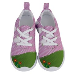 Pine Trees Trees Sunrise Sunset Running Shoes by Sapixe