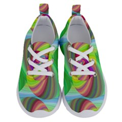 Seamless Pattern Twirl Spiral Running Shoes