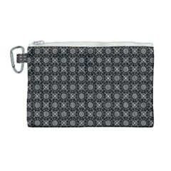 Kaleidoscope Seamless Pattern Canvas Cosmetic Bag (large) by Sapixe