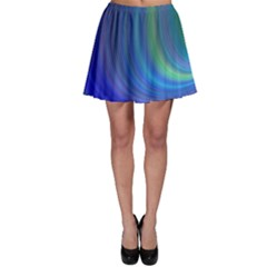 Space Design Abstract Sky Storm Skater Skirt by Sapixe