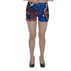 Wow Art Brave Vintage Style Skinny Shorts by Sapixe