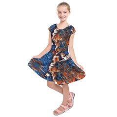Wow Art Brave Vintage Style Kids  Short Sleeve Dress by Sapixe