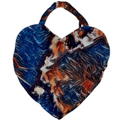 Wow Art Brave Vintage Style Giant Heart Shaped Tote by Sapixe