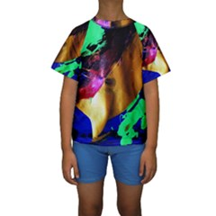 Global Warming 9 Kids  Short Sleeve Swimwear by bestdesignintheworld