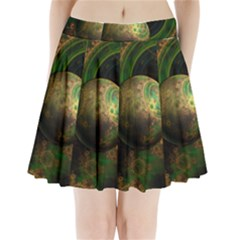 Tiktok s Four Dimensional Steampunk Time Contraption Pleated Mini Skirt
