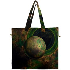 Tiktok s Four Dimensional Steampunk Time Contraption Canvas Travel Bag by jayaprime
