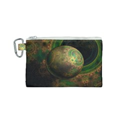Tiktok s Four Dimensional Steampunk Time Contraption Canvas Cosmetic Bag (small) by jayaprime