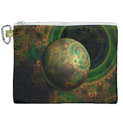Tiktok s Four Dimensional Steampunk Time Contraption Canvas Cosmetic Bag (xxl)