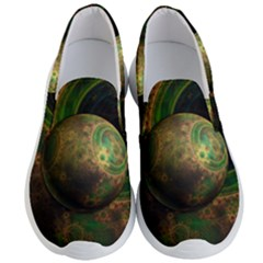 Tiktok s Four Dimensional Steampunk Time Contraption Men s Lightweight Slip Ons by jayaprime