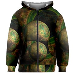 Tiktok s Four Dimensional Steampunk Time Contraption Kids Zipper Hoodie Without Drawstring