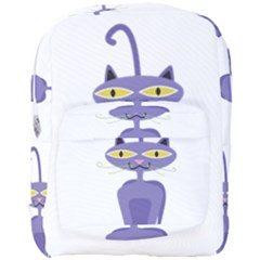 Cat Clipart Animal Cartoon Pet Full Print Backpack by Sapixe