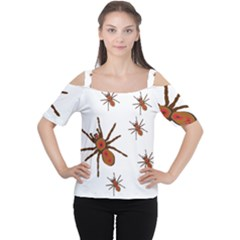 Nature Insect Natural Wildlife Cutout Shoulder Tee