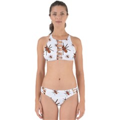 Nature Insect Natural Wildlife Perfectly Cut Out Bikini Set by Sapixe